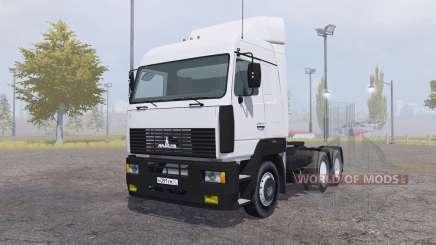 МАЗ 6430А8 v2.0 для Farming Simulator 2013