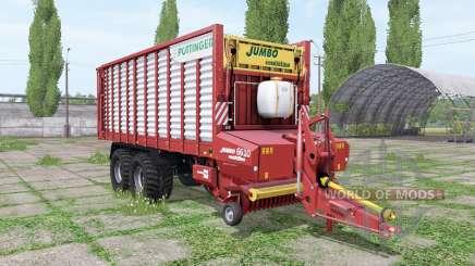 POTTINGER JUMBO 6610 combiline v1.1 для Farming Simulator 2017