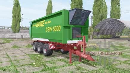 Hawe CSW 5000 для Farming Simulator 2017