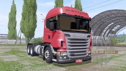 Scania R440 Highline для Farming Simulator 2017