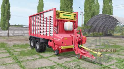POTTINGER JUMBO 6010 combiline v1.3 для Farming Simulator 2017