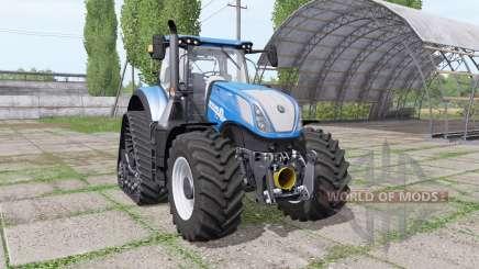 New Holland T7.315 RowTrac для Farming Simulator 2017