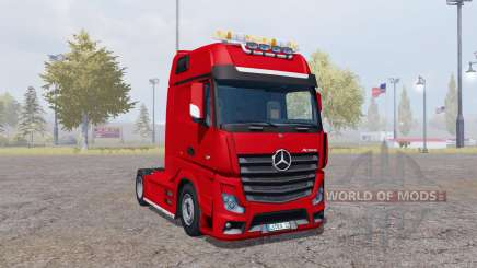 Mercedes-Benz Actros (MP4) для Farming Simulator 2013