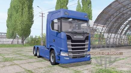 Scania S 480 3 axle для Farming Simulator 2017