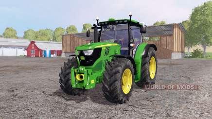John Deere 6170R front loader для Farming Simulator 2015