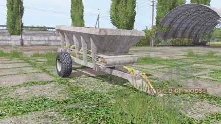 UNIA RCW 3000 v2.0 для Farming Simulator 2017
