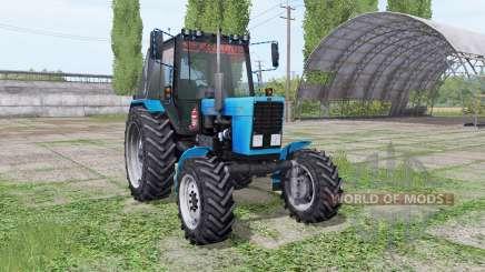 МТЗ 82.1 Беларус v1.2 by XXXni для Farming Simulator 2017