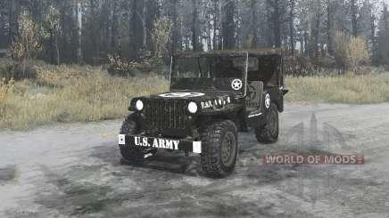 Willys MB 1942 U.S.Army для MudRunner