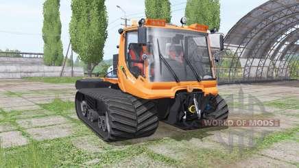 PistenBully 600 komunal v2.0 для Farming Simulator 2017