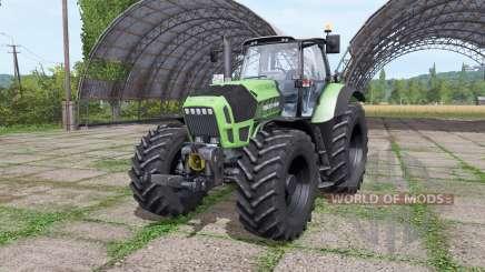 Deutz-Fahr Agrotron X720 IC Animation для Farming Simulator 2017