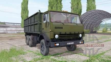 КамАЗ 55102 v1.1 для Farming Simulator 2017