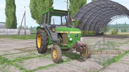 John Deere 2040S для Farming Simulator 2017