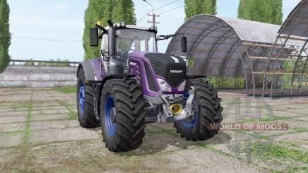 Fendt 939 Vario multicolor - more engine для Farming Simulator 2017