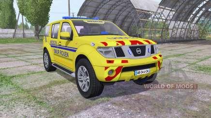 Nissan Pathfinder (R51) 2004 SAMU для Farming Simulator 2017