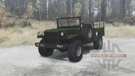 Dodge WC-51 [T214] 1942 для MudRunner