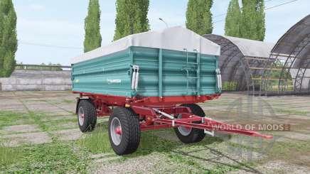 Farmtech ZDK 1100 для Farming Simulator 2017