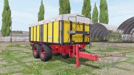 Kroger TKD 302 Fendt для Farming Simulator 2017