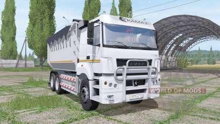 КАМАЗ 65802 v1.1 для Farming Simulator 2017