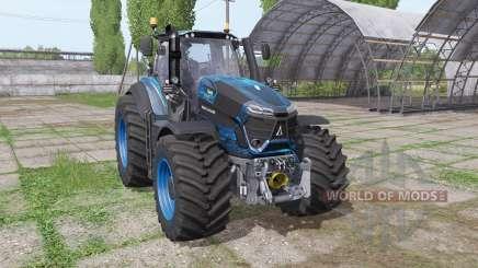 Deutz-Fahr Agrotron 9340 TTV blau design для Farming Simulator 2017