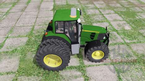 John Deere 6430 Premium для Farming Simulator 2017
