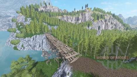 Emerald Valley для Farming Simulator 2017