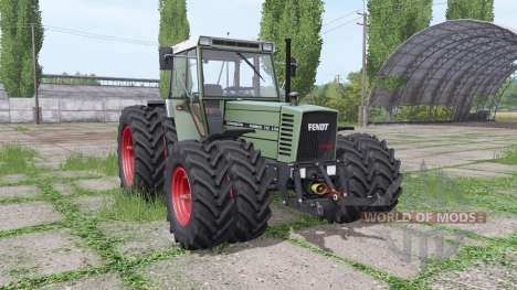 Fendt Farmer 312 LSA для Farming Simulator 2017