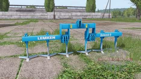 LEMKEN Dolomit 9-400 для Farming Simulator 2017
