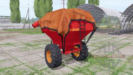 Fankhauser 8010 для Farming Simulator 2017