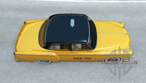 Burnside Special Taxi для BeamNG Drive