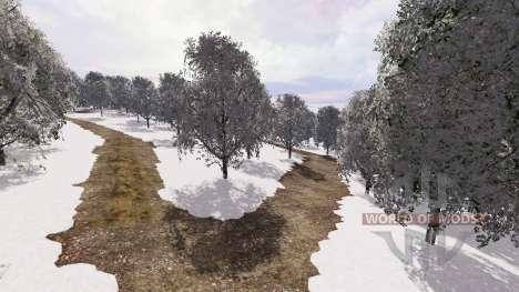 Snow Romania для Farming Simulator 2015
