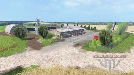 Summer Fields для Farming Simulator 2015
