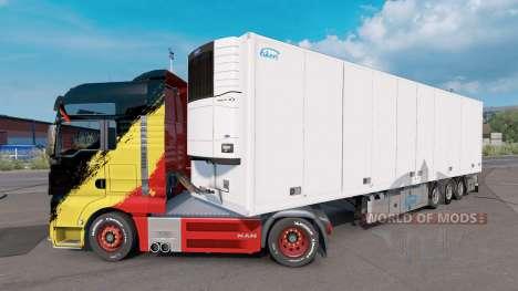 Ekeri Trailer для Euro Truck Simulator 2
