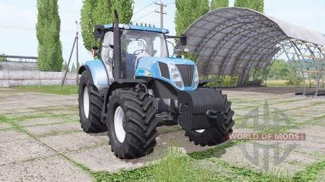 New Holland T7030 для Farming Simulator 2017