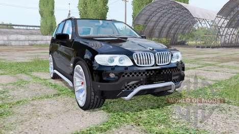 BMW X5 (E53) 2004 для Farming Simulator 2017
