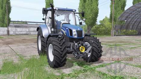 New Holland Т6.160 для Farming Simulator 2017