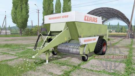 CLAAS Quadrant 1200 old для Farming Simulator 2017