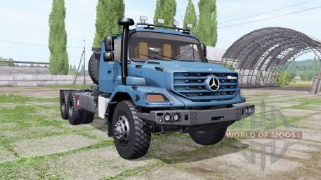 Mercedes-Benz Zetros для Farming Simulator 2017