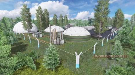Fazenda Paraiso для Farming Simulator 2017