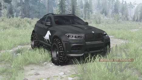 BMW X6 для Spintires MudRunner