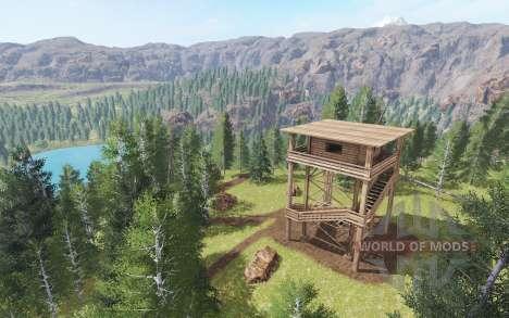 Smokey Mountain Logging для Farming Simulator 2017