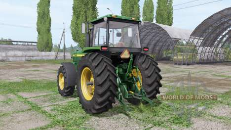 John Deere 4555 для Farming Simulator 2017