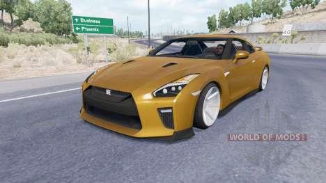 Nissan GT-R для American Truck Simulator