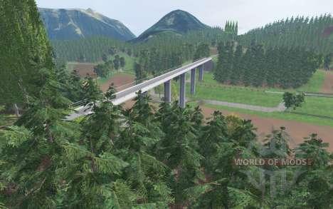 Wild Creek Valley для Farming Simulator 2015