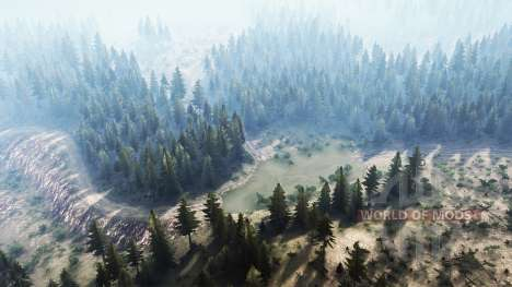 La Luna 9 - A day off in the countryside для Spintires MudRunner