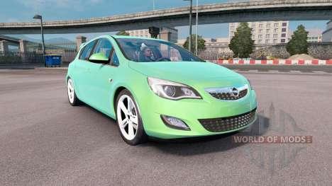 Opel Astra для Euro Truck Simulator 2