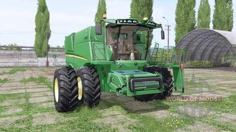 John Deere S690 для Farming Simulator 2017