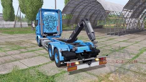 Scania R730 V8 для Farming Simulator 2017