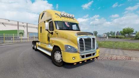 Freightliner Cascadia для Euro Truck Simulator 2