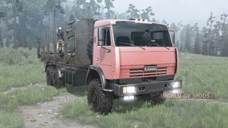 КамАЗ 6511 для Spintires MudRunner
