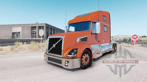 Volvo VT880 Raised-Roof Sleeper cab v1.4.1 для American Truck Simulator